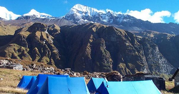 Tharpu Chuli (Tent Peak) Climb