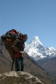 a porter with Amadablam in background .jpg
