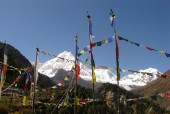 Mt.Manaslu (8163m.:26381ft.)  and prey flags.jpg