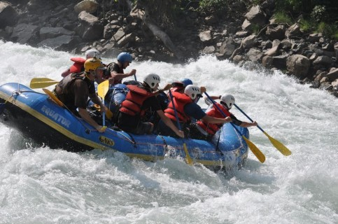 Trisuli White Water Rafting
