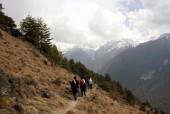 Trekking above Langtang Khola gorge.jpg