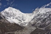 Langtang glacier and Langtang Lirung in the background.jpg