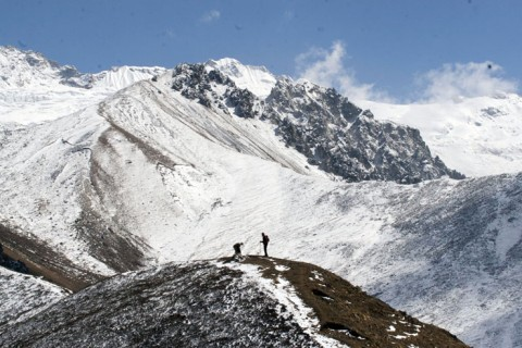 Langtang Valley and Naya Kanga Climb